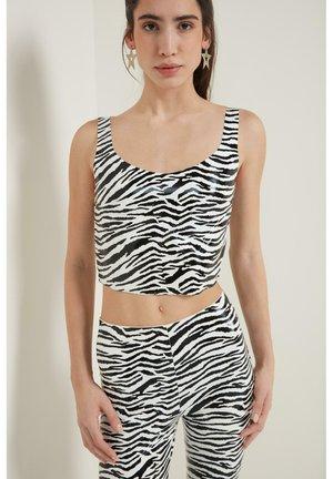 Top - bianco st.zebra
