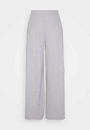 ONLLAYLA WIDE PANTS - Bukser - light grey melange