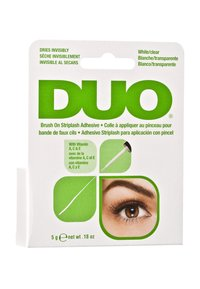 DUO - DUO BRUSH ON ADHESIVE WITH VITAMINS - False eyelashes - clear - 2