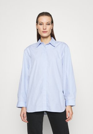 SHIRT - Button-down blouse - blue light