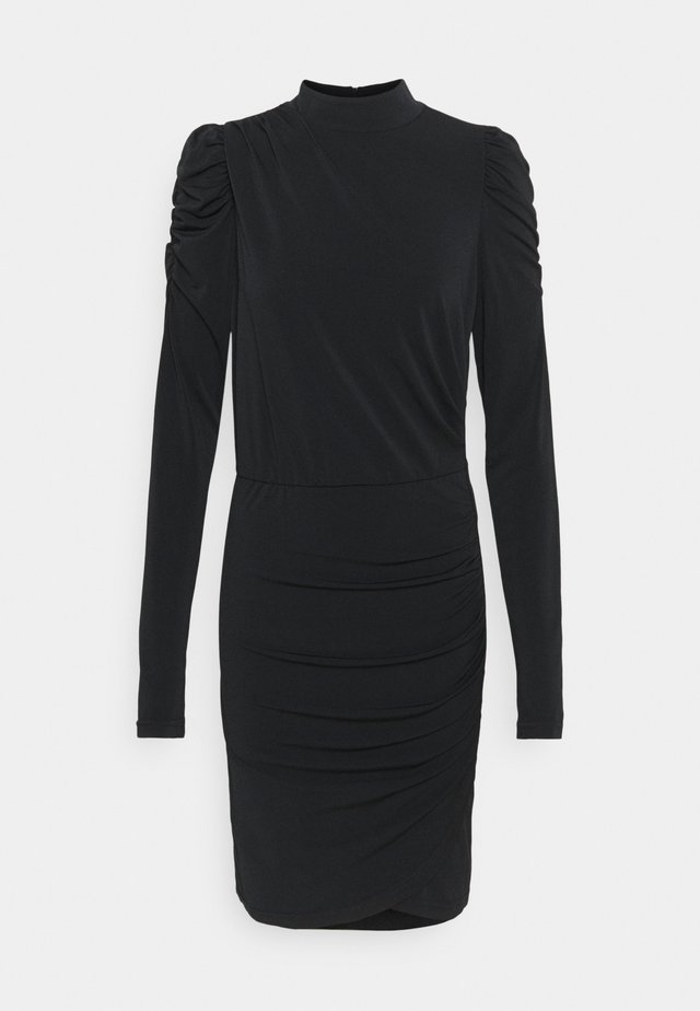 VMJAYDA DRESS - Jersey dress - black