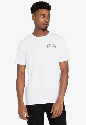 MARGRET - Print T-shirt - white