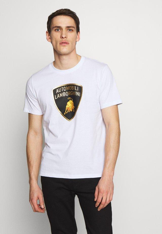 BIG LOGO  - T-shirt con stampa - white
