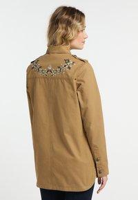 DreiMaster - Summer jacket - dark sand - 2