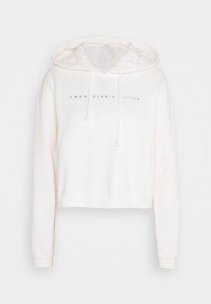 SMALL SCALE LOGO - Hoodie - white