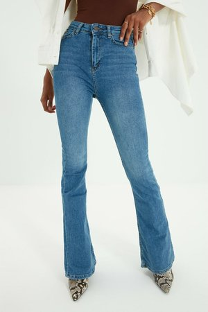 Jeansy Bootcut - blue
