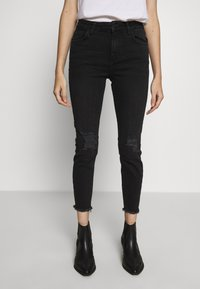 New Look Petite - LIFT AND SHAPER - Jeans Skinny Fit - black - 0