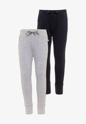 KIDS UNISEX BASIC 2 PACK - Tracksuit bottoms - nachtblau/nebel
