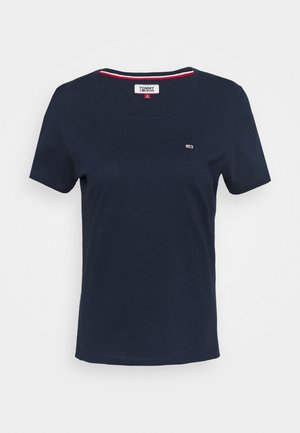 SOFT TEE - T-shirts basic - navy
