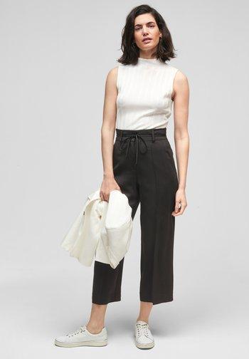 Trousers - true black