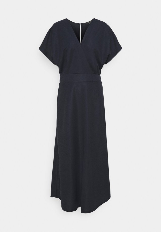 WRAP DRESS - Długa sukienka - navy