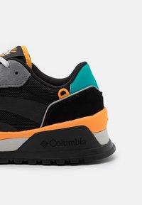 Columbia - WILDONE ANTHEM - Trekingové boty - black/flame orange - 5
