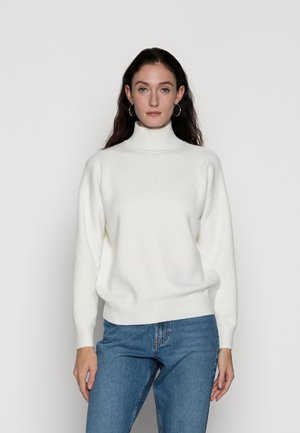 KITTEN STITCH - Sweter - light cream