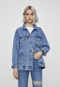 PULL&BEAR - Denim jacket - dark blue - 0