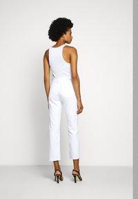 AG Jeans - ISABELLE - Slim fit jeans - retro white - 2