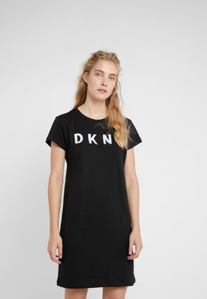 LOGO DRESS - Sukienka letnia - black