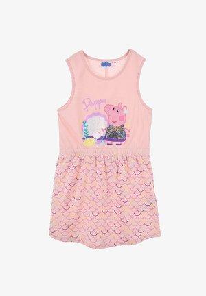 PAILLETTEN PEPPA PIG - Day dress - rosa
