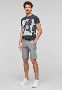 QS by s.Oliver - Shorts - blue - 1