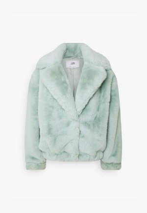 OVERSIZE SHORT JACKET - Winter jacket - green