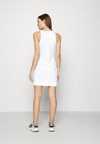 Calvin Klein Jeans - URBAN LOGO TANK DRESS - Jersey dress - bright white - 2