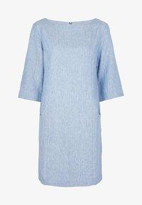 Boden - LAURIE - Day dress - graublauer faux-uni - 4