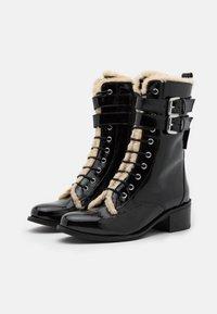 Kurt Geiger London - SERENA - Lace-up ankle boots - black - 2