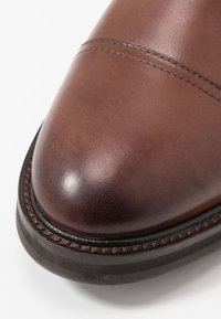 Topman - ORBIS HERITAGE BOOT - Lace-up ankle boots - brown - 5