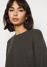 New Look Petite - FASHIONED JUMPER - Svetr - mid grey - 3