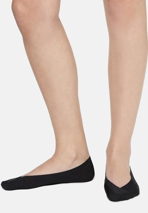 Trainer socks - black denim