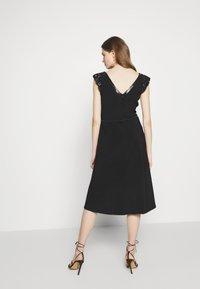 Lauren Ralph Lauren - BONDED DRESS - Jersey dress - black - 2