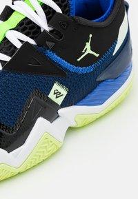 Jordan - WESTBROOK ONE TAKE - Basketball shoes - black/barely volt/hyper royal/blue void/white - 5