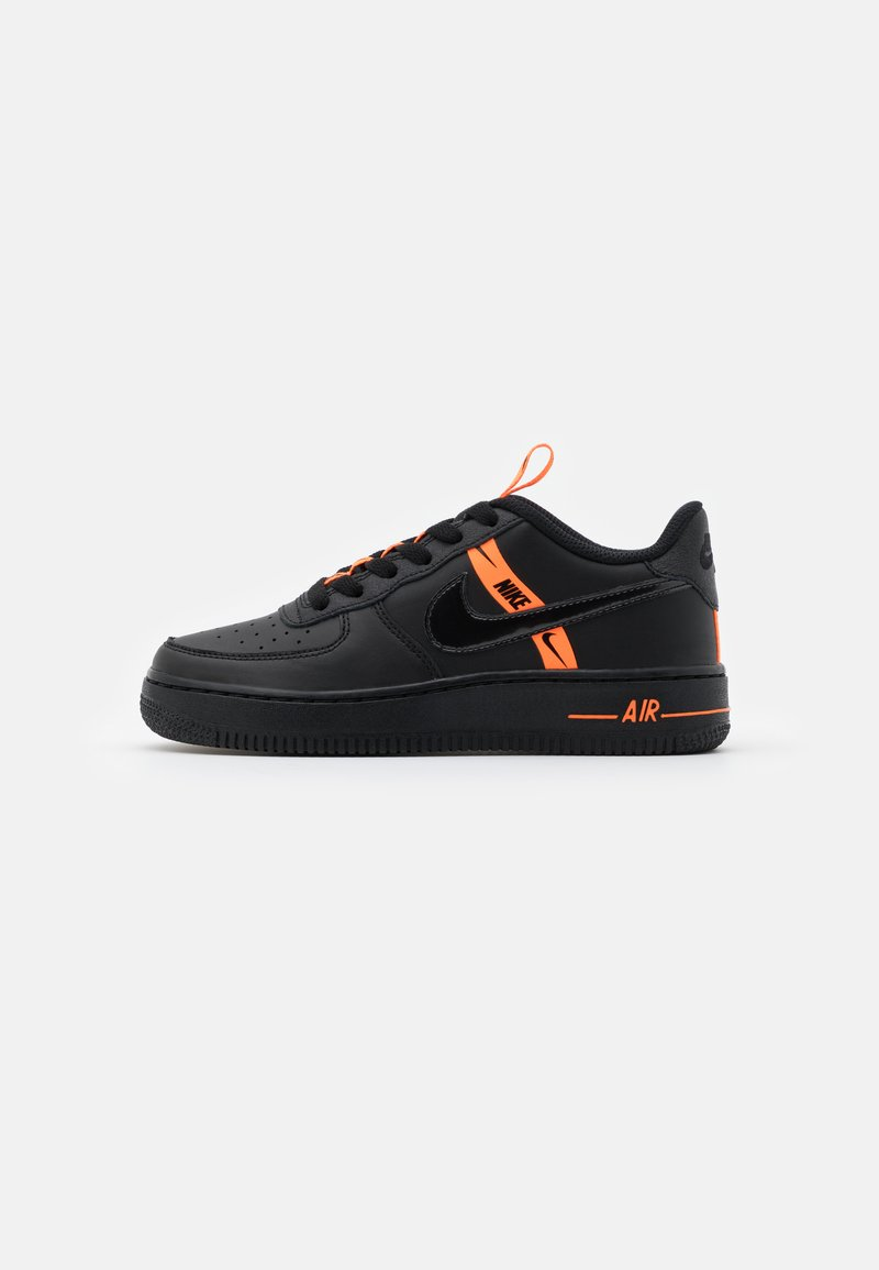 Nike Sportswear - AIR FORCE 1 - Trainers - black/total orange
