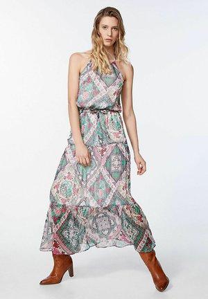 Maxi dress - menthe-rose
