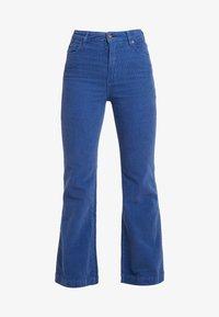 EASTCOAST FLARE - Spodnie materiałowe - french blue
