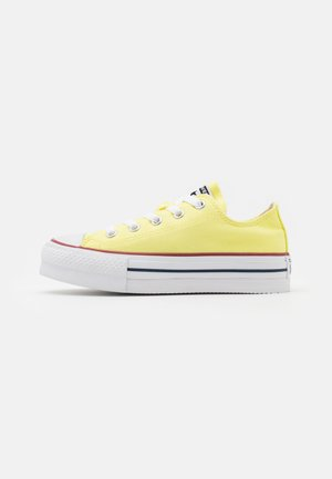 CHUCK TAYLOR ALL STAR LIFT - Baskets basses - light zitron/white/black