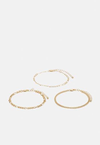 PCKIBO BRACELET CURVE 3 PACK - Bracelet - gold-coloured