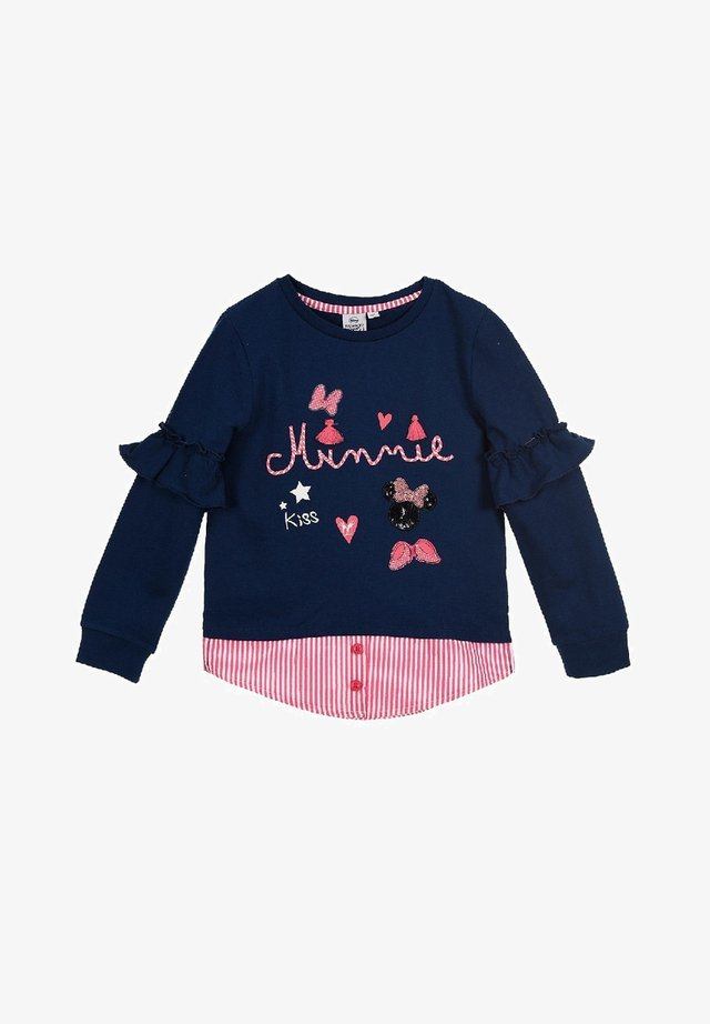 DISNEY MOUSE  - Sweatshirt - blau