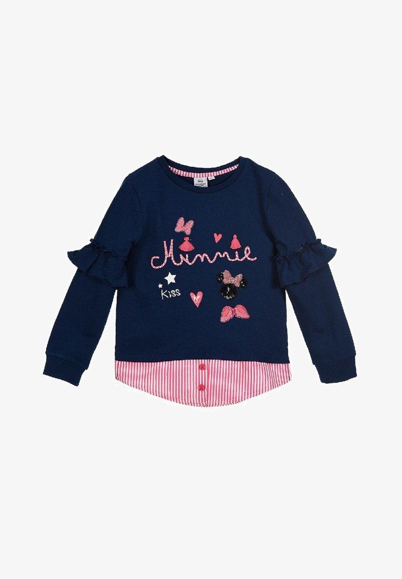 Mickey & Minnie - DISNEY MOUSE  - Sweatshirt - blau
