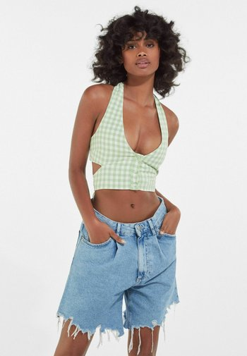 GINGHAM - Top - green