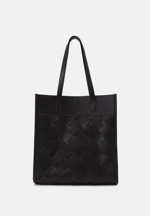 BRAIDED TOTE - Tote bag - black