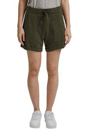FASHION - Shorts - khaki green