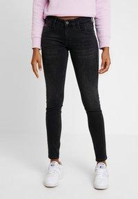 Tommy Jeans - SCARLETT - Skinny džíny - west black - 0
