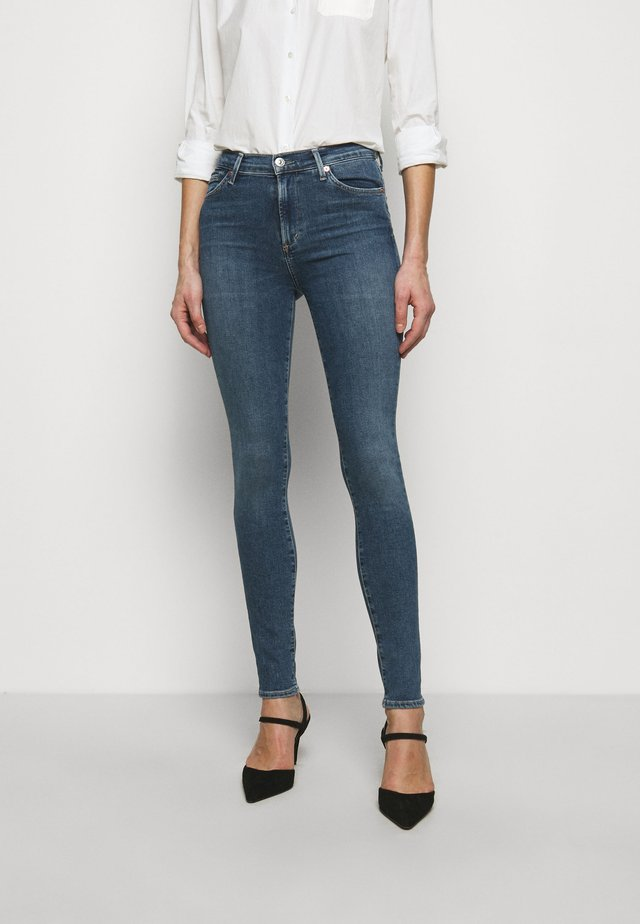 ROCKET - Jeans Skinny - blue denim