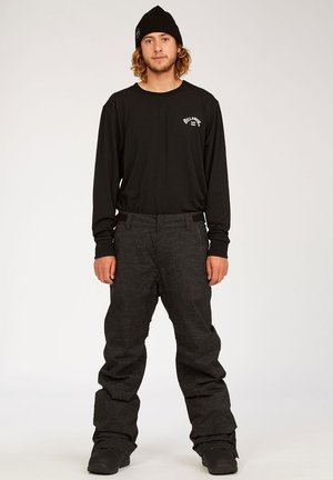 Pantalon de ski - blk reflec camo