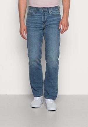 MEDIUM CLEAN RIGID - Straight leg jeans - medium bright indigo