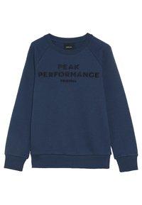 Peak Performance - Sweatshirt - decent blue - 2