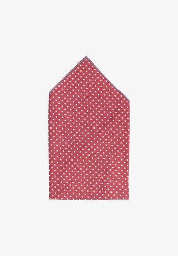 QUATTROMILE - Pocket square - rot/weiß