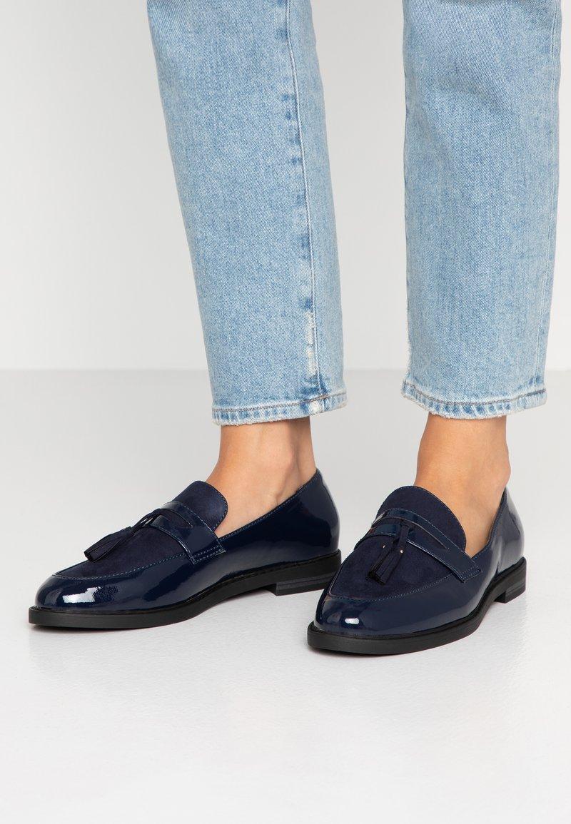 Anna Field - Nazouvací boty - dark blue