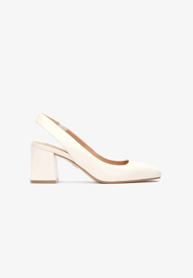 DIGGIE - Klassieke pumps - white