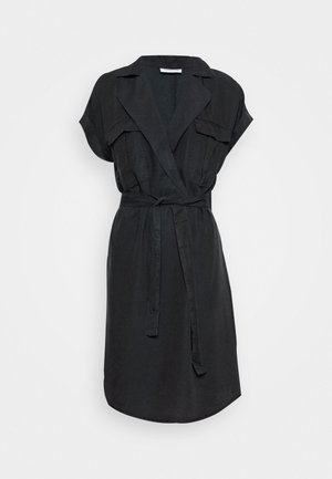 NMVERA ENDI DRESS - Skjortklänning - black
